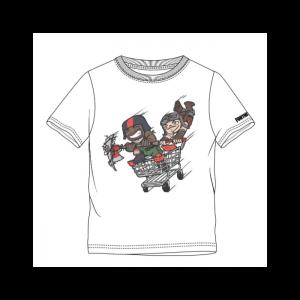 Fortnite - Stilizuoti Veikėjų Marškinėliai - Spacebar.gg