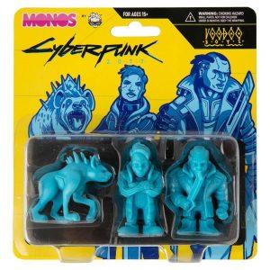 CYBERPUNK 2077 Monos Voodoo Boys Set Series 1 Blue - Spacebar.gg
