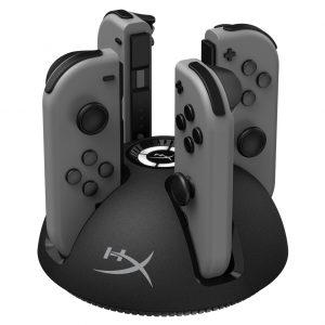 HyperX ChargePlay Quad Nintendo Switch Krovimo Stotelė - Spacebar.gg