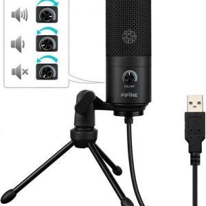 FIFINE K669B USB Mikrofonas - Spacebar.gg