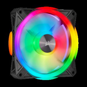 Corsair iCUE QL120 / QL140 RGB Korpuso Ventiliatoriai - Spacebar.gg