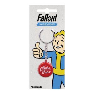 Fallout - Nuka Cola Kamštelio Raktų Pakabukas - Spacebar.gg