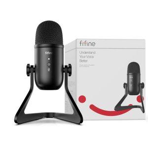 FIFINE K678 USB Mikrofonas - Spacebar.gg