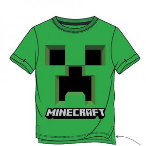 Minecraft - Creepy Creeper Marškinėliai - Spacebar.gg